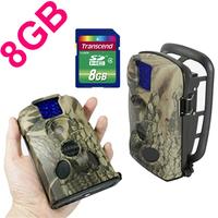 LTL-5210A 12MP 940NM Blue IR digital outdoor wildlife hunting trail camera with 8GB SD card Free Shipping