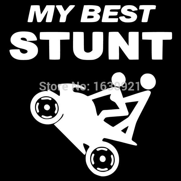 Best Motorcycle Decal my Best Stunt Motorcycle