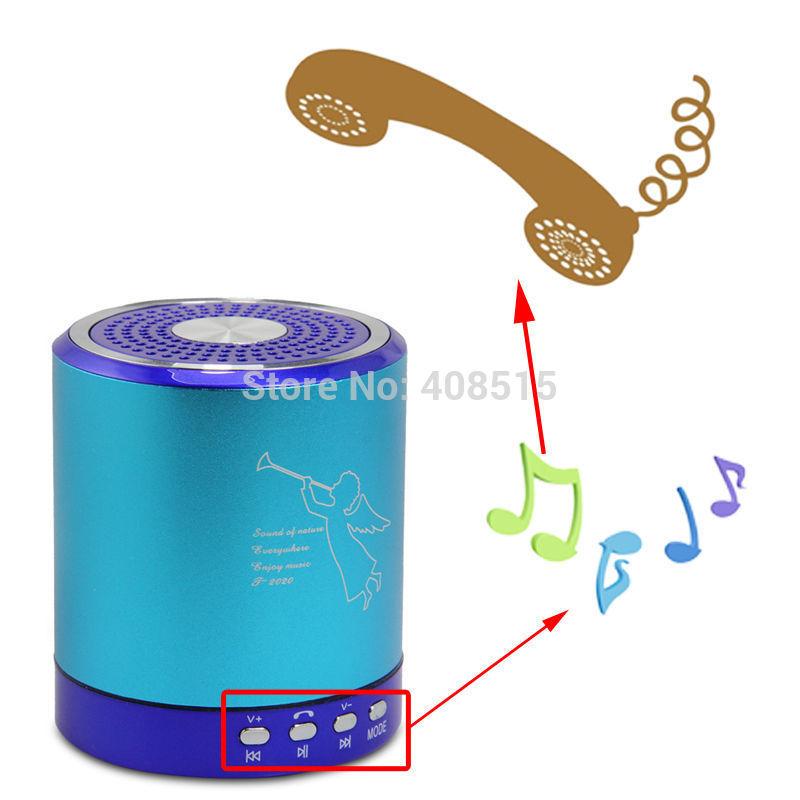 5118 2014 Fashion Angel Design New Portable USB Music Player Mini Speaker For PC Phone MP3/4 Micro SD/TF Solt T2020(China (Mainland))
