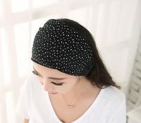 Christmas Gift Star Diamond Band Headbands For Women,High-grade Spring Band Beautiful Elastic Headbands For Hair
