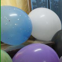 36 inch floating air ball Dots flat balloon Printing dot