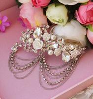 Alloy rhinestone bride hair accessory marriage accessories wedding accessories style accessories
