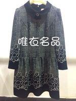 14 autumn t1403-l007 flower one-piece dress