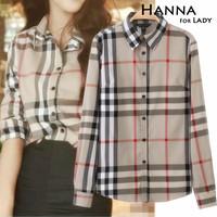 New Arrival 2015 Spring And Autumn High Quality Plaid Shirts Women's Clothes Blusas Femininas