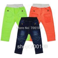 [April's]retailsale kids cotton pants,kids fluorescence colour pants spring autumn pants,child long pants , girls boys B13108