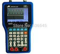 Free shipping JDS3012A Handheld oscilloscope+multimeter+ signal generator+ recorder, 30M bandwidth, 250M sampling rate, 4in1