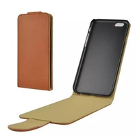 HY-Popular high leather upper and lower open plain phone sets case for iphone 6  4.7inch