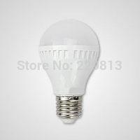 High brightness!!! 3W/5W/7W Plastic  LED bulbs with E27/B22 base/  screw led lamps/3-12W LED lights