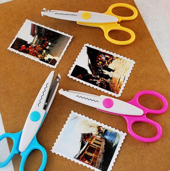 Metal and plastic diy scrapbooking photo font b scissors b font font b paper b font