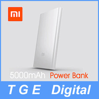 Original Real Xiaomi Power Bank 5000mAh Super Slim Ultra Thin External Lithium-ion Battery Portable Charger for Phone Tablet