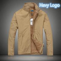 R-L Autumn winter Men classic small embroidery horse Fleece Polo jacket/long sleeve fleece warm windbreak casual coat