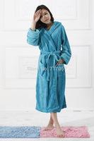 comfatable flannel long women sleepwear
