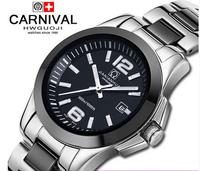 New 2015 High Quality Ceramic Strap Quartz watch LOGO 100% Women Dress Wristwatch quartz Watches Casual Clock