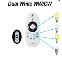 one piece of WW/CW remote + 4pcs 2.4Ghz RF LED WW/WC Bulb 6W