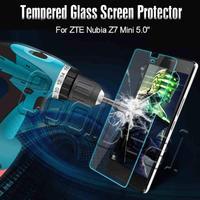 "Ultra thin anti-Burst Tempered Glass Screen Protector/Film For ZTE Nubia Z7 Mini 5.0"" Luxury Mobile Phone"