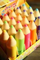 3Pcs New Makeup Full Colorful Moisturizing Pencil Lip Balm Natural Plant Cute Fruit Flavor Lipsticks