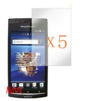 hot Sale 5x Matte Anti Glare Screen Protector LCD FILM GUARD FOR Sony Xperia arc S LT15i LT18i