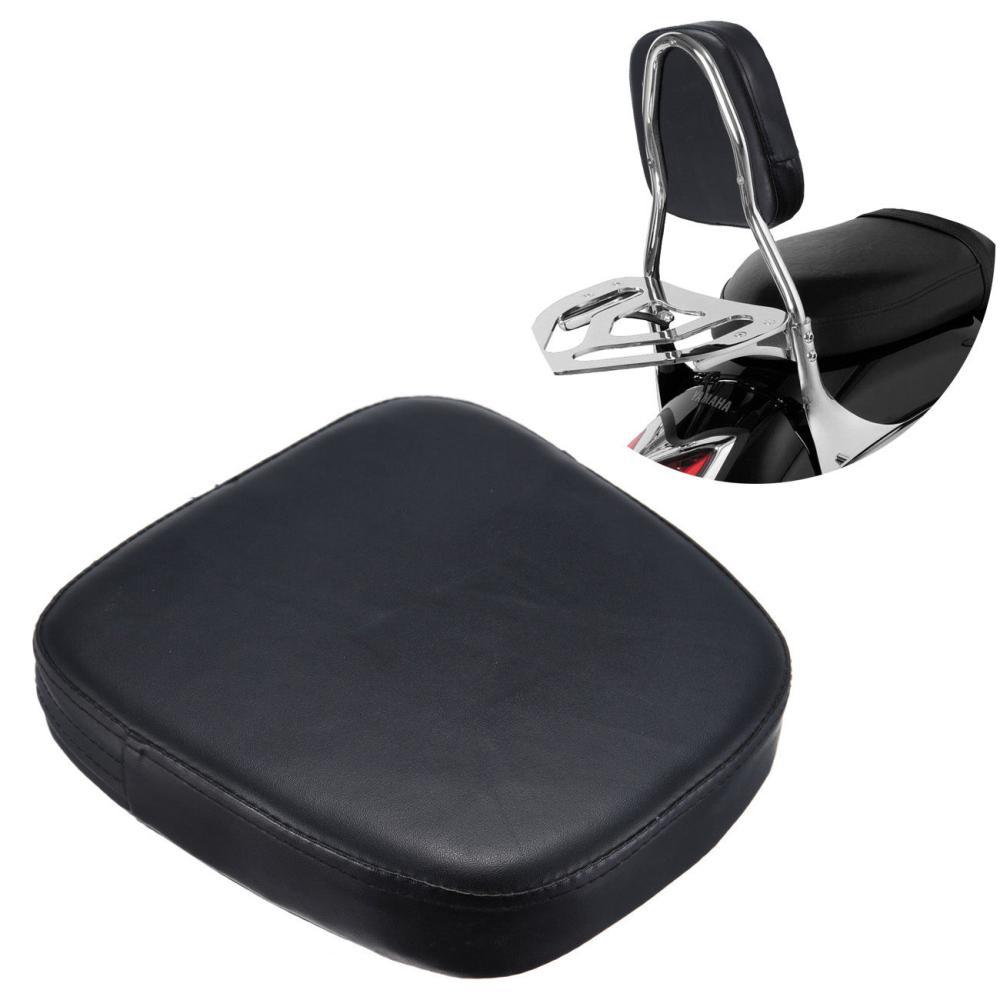 Motorcycle Square Sissy Bar Backrest Cushion Pad For Harley Davidson Honda Kawasaki Suzuki Cruiser(China (Mainland))