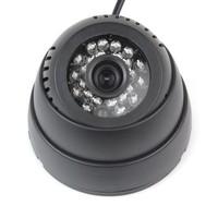 0.3 Mega Pixel Local Storage Digital Video Recorder 24LED Infrared Night Vision CCTV Security Camera Free Shipping