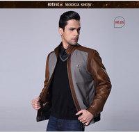 Men's winter jacket wool coat 2014 new men's casual jacket collar jacket men men cultivating long-sleeved jacket