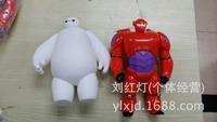Big Hero 6 PVC Figure Loose 2 pcs set toy Cartoon & Anime movie Baymax 20 cm