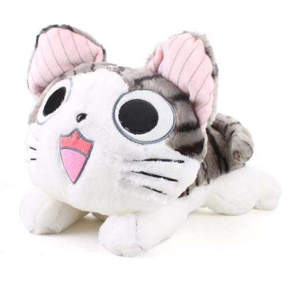 Christmas birthday gifts Japan anime figure cheese cat plush stuffed toy doll pillow cushion 20cm(China (Mainland))