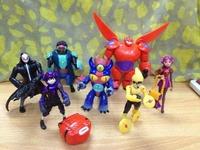 Big Hero 6 PVC Figure Loose 7 pcs set toy Cartoon & Anime movie