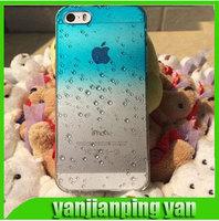 La nueva caja de 4,7 Agua ultrafinos gota para for Apple Iphone 6 6S gradiente Casos transparentes para iPhone6 Shell para