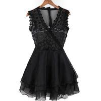 2015 women casual lace bandage dress vestidos vestido de festa roupas femininas evening party dresses 5193