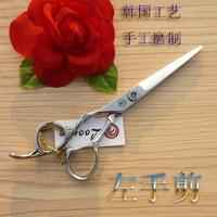 Loong quality hair scissor scissors flat cut left hand scissors fhb-60