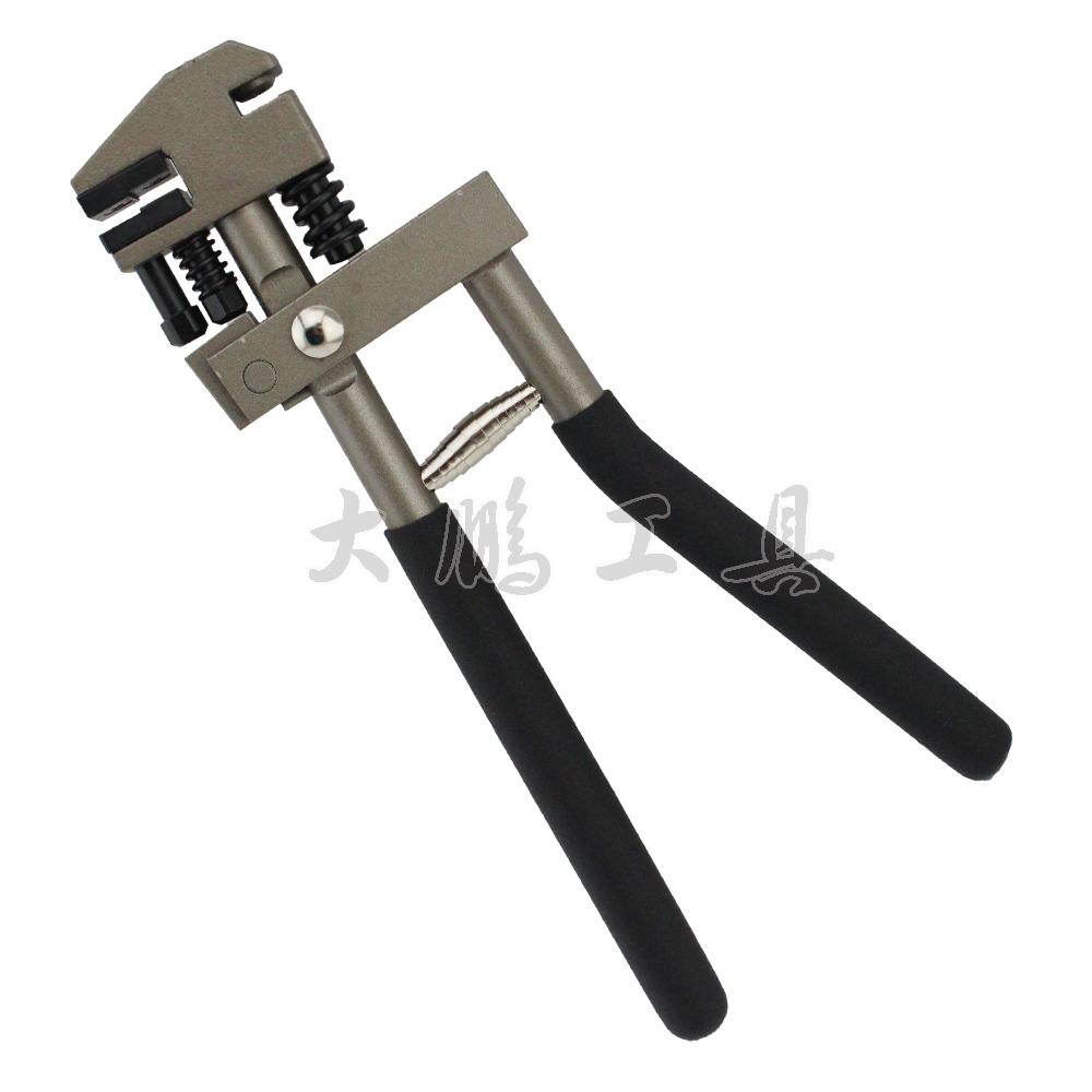 Taiwan Tools Sheet Metal tin punch pliers punch pliers 5mm plate aluminum skin strength(China (Mainland))