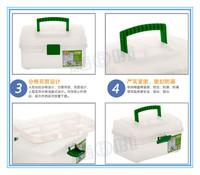Free shipping High quality medicine box Aluminum family kits, first aid kits, Medical kit