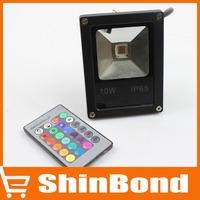 RGB LED luminaire light 10W led flood light 12V LED search light Floodlight LED street Lamp outdoor Free shipping