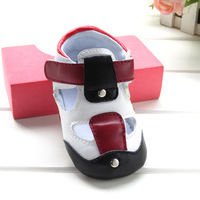 Promotion 2014 hot selling baby summer sandals shoes soft rubber sole toddler non-slip pre-walker kids shoes 11cm/12/13cm
