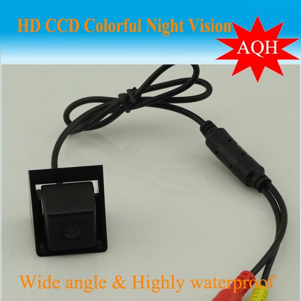 CCD Car Reverse Camera for Ssangyong new Actyon Korando Reversing Backup Rear View Parking Camera Night Vision Free Shipping(China (Mainland))