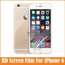 2 Pcs = 1 Front +1 After Full body For iphone6 Transparent Clear HD for Apple iPhone 6 Screen Protector Film Phone Accessories