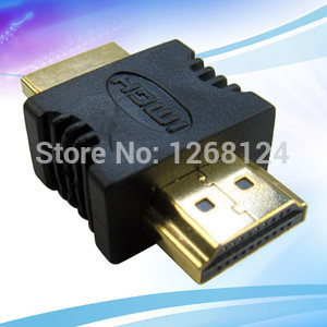 19Pin HDMI Male to HDMI Male Video Adaptor for LCD HDTV 9883 pmgh(China (Mainland))