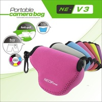 NEOpine Inner Protective Waterproof Soft Triangle Case Bag Pouch Perfect For Nikon V3 Camera