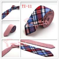 Hot Cheap,1pcs/lot,2015 Brand New,Men Diomand Check corbatas necktie,Mens double wear Cotton gravata Skinny Neck Ties,TI11