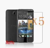 5X Matte Anti Glare Screen Protector for HTC Desire 300 301e Protective Film Screen Guard Retail Packing
