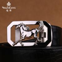 2014 Crocodile Pattern Brand High Quality Genuine Leather Belts for Men Male Strap designer belts fashion belts FreeShip8052