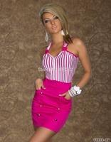 Creative design fashionable women dress 2015 sexy casual dress office dress plus size XXL