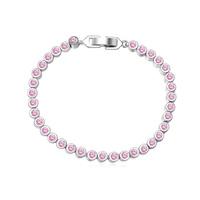 new brand design fashion women gold bracelet TOP18K porn long road zircon Bangle Bracelet 108389