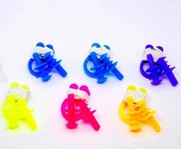 Wholesales!!! waterproof soft silicone swimming earplugs plus nose clips swimming earplugs for kids mixed color  Free Shipping