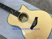 916CE Acoustic Guitar Natural Color Solid Spruce Top In Stock Free Shipping