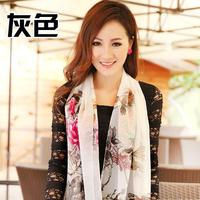 Perpetuals pattern design long scarf silk scarf  decorative pattern fashion scarf