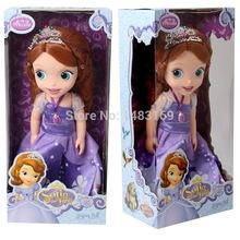 2015 Hot Now fashion Original edition Sofia the First princess Bobbi doll VINYL toy boneca accessories Doll For Kids Best Gift(China (Mainland))