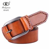 2014 new man belt harness genuine  leather real brand high quality fanous hamdmade designer  luxury men belts