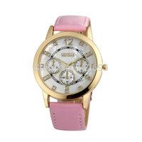 NEW Geneva watch Women dress watches rose gold fashion quartz watch for female Shell dial Analog round dial Atmos Clock relogios