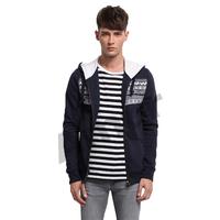Amur Men pullover Casual sweatshirt Jacket Coat Slim Fit outwear printed zipper Hoodies